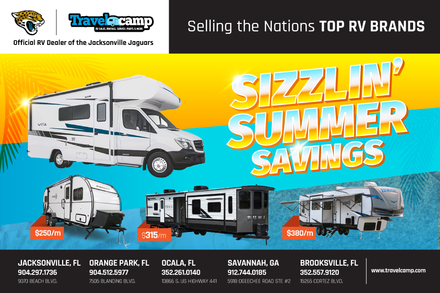 Travelcamp RV - Florida - Sizzlin Summer Savings